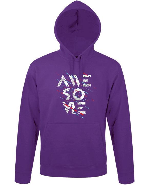 Mikina dámská fialová Awesome