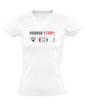 Tričko dámské bílé Horror story