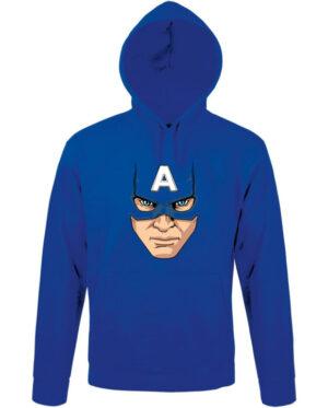 Mikina dámská modrá Captain America