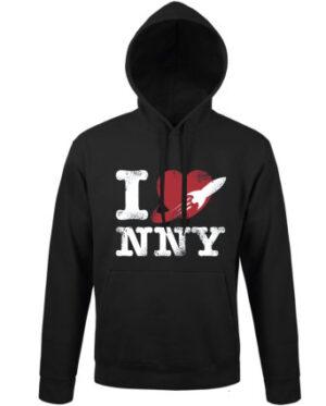 Mikina pánská černá I love New New York