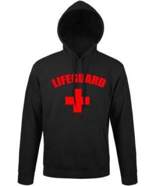 Mikina pánská černá Lifeguard