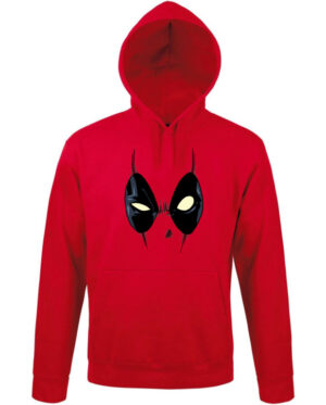 Mikina pánská červená Deadpool