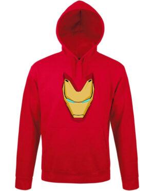 Mikina pánská červená Iron man