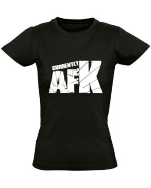 Tričko dámské černé AFK