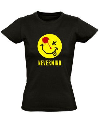 Tričko dámské černé Nirvana Nevermind