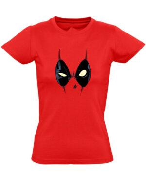 Tričko dámské červené Deadpool