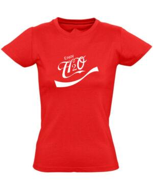 Tričko dámské červené Enjoy H2O