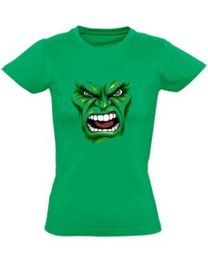 Tričko dámské zelené Hulk