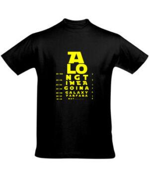 Tričko pánské černé A LONG TIME AGO