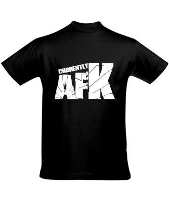 Tričko pánské černé AFK
