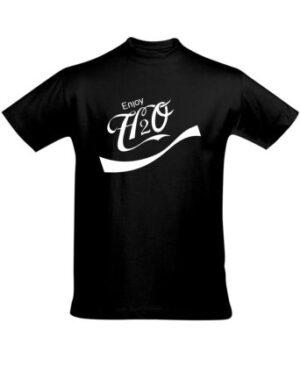 Tričko pánské černé Enjoy H2O