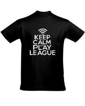 Tričko pánské černé League of Legends