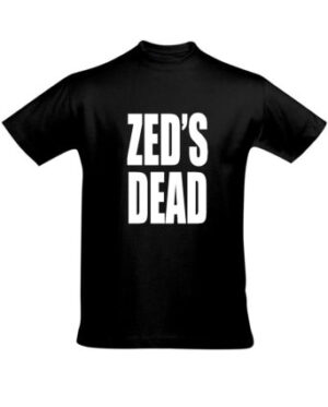 Tričko pánské černé ZED'S DEAD
