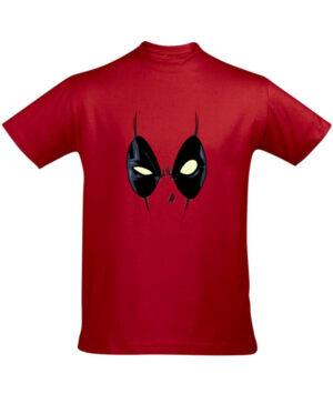 Tričko pánské červené Deadpool
