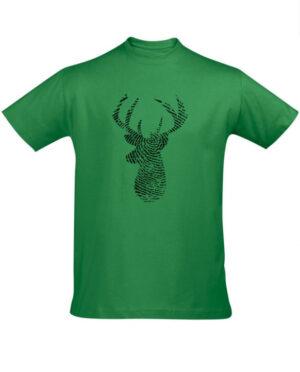 Tričko pánské zelené Fingerprint