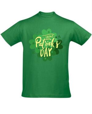 Tričko pánské zelené Saint Patricks day